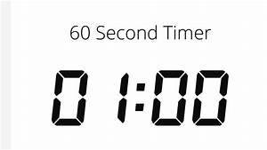 60, Second, Timer