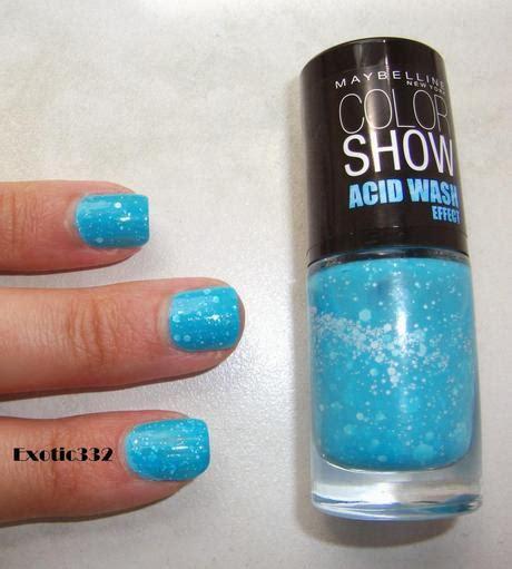 Acid Or Not Acid ? Avec Le Vernis Color Show Acid Wash