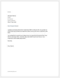 Job Request Letter Format In Tamil - Letter