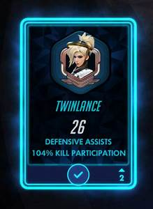 Overwatch How Did This Mercy Get 104 Kill Participation