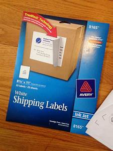 silhouette white sticker paper alternative on the cheap With avery full sheet shipping labels