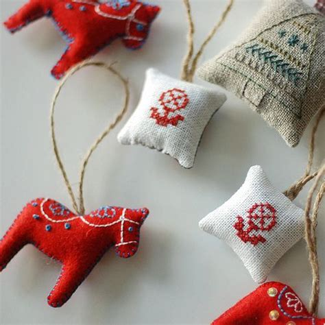 swedish christmas decorations to make pin by dette k on ideas swedish embroidery ornament and