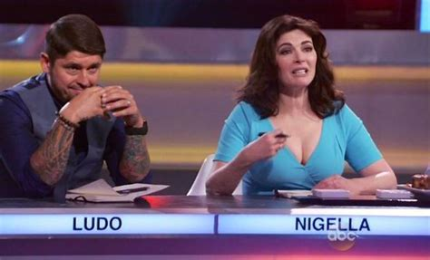 Nigella Lawson Mortified Over Flashing Too Much Cleavage