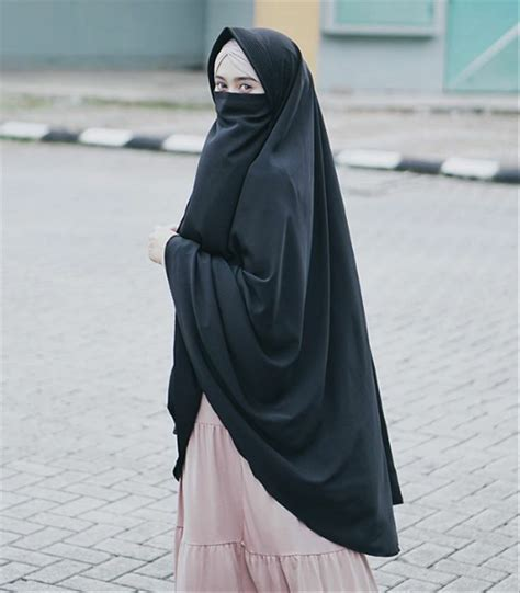gambar hijab cadar cantik tutorial hijab terbaru