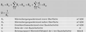 R Wert Berechnen : w rme ~ Themetempest.com Abrechnung