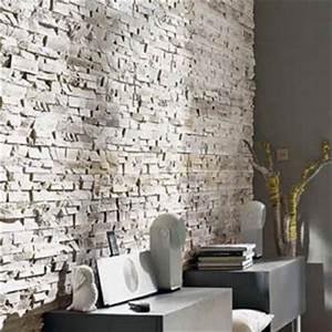 Relooker le salon avec des plaquettes de parement for Salle de bain design avec plaques décoratives murales