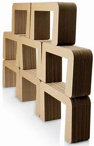 Sturdy Cardboard Furniture Collection from Sanserif