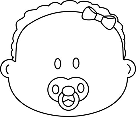baby girl coloring pages getcoloringpagescom