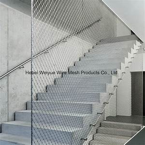 China 7 19 Stainless Steel Rope Net For Staircase  Bridge