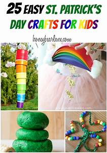 25 Easy St Patrick's Day Crafts For Kids - Honeybear Lane