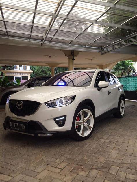 Modifikasi Mazda Cx 9 by White Mazda Cx 5 Simple Modification Mazda Cx 5 Mazda