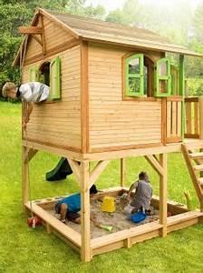 Gartenhaus Holz Kinder : kinderspielhaus spielhaus gartenhaus spielh tte aus holz ~ Watch28wear.com Haus und Dekorationen