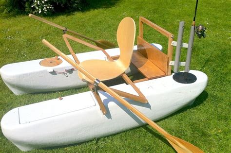 Diy Boat by Mini Pontoon Boat With Rod Holders Diy Boat