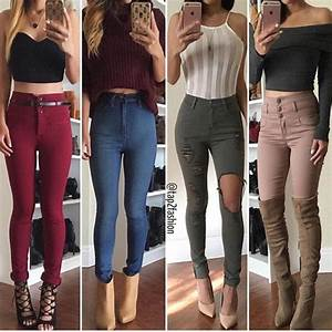 Jeans ripped jeans skinny jeans blue jeans high waisted jeans light blue jeans pants ...