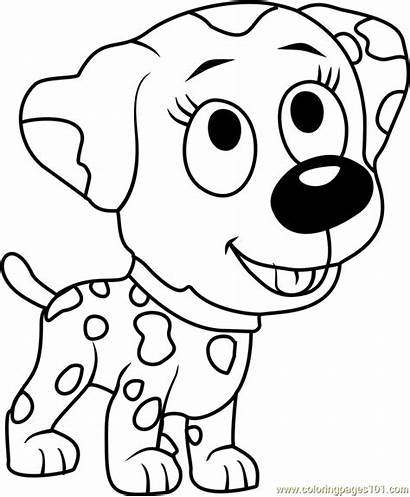 Puppies Pound Coloring Pages Roxie Cartoon Coloringpages101