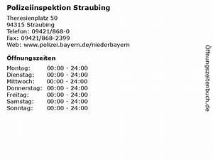 Wanninger Straubing öffnungszeiten : ffnungszeiten polizeiinspektion straubing theresienplatz 50 in straubing ~ Watch28wear.com Haus und Dekorationen