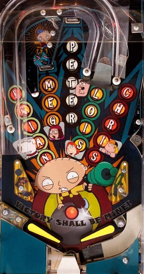 discontinued product  family guy pinball machine