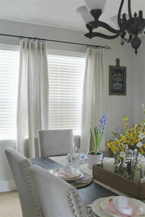 how to hang curtains and drapes clean and scentsible