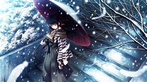 Winter Anime Wallpaper ·① Wallpapertag