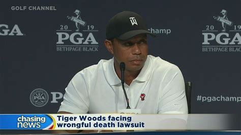 Tiger Woods facing wrongful death lawsuit