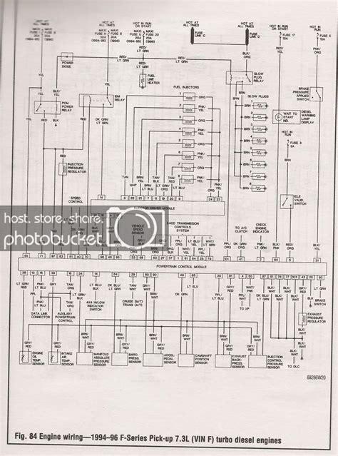 96 Ford F350 Wiring Diagram by 97 Powersroke Wiring Diagram Ford Powerstroke Diesel Forum