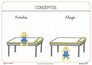 Conceptos básicos en educación infantil Fichas para trabajar en el aula