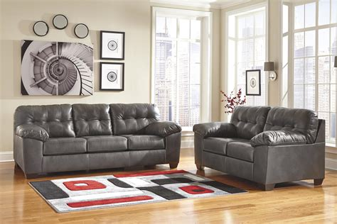 contemporary faux leather sofa pillow arms signature