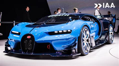 Bugatti Vision Gt For Sale frankfurt 2015 bugatti vision gran turismo gtspirit
