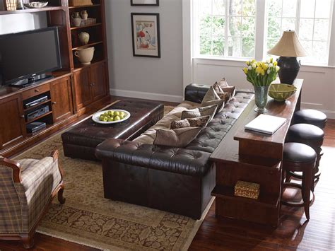 New Stickley Gathering Island In Family Room Home In