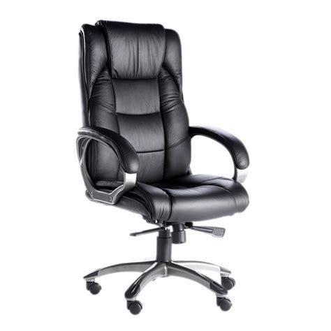 fauteuil bureau cuir noir alphason northland fauteuil cuir noir achat vente