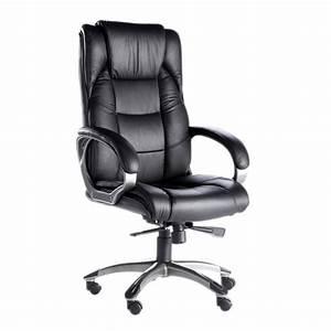 Fauteuil De Bureau Cuir : alphason northland fauteuil cuir noir achat vente chaise de bureau cdiscount ~ Teatrodelosmanantiales.com Idées de Décoration