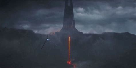 Doomswordislaw Vaders Castle From Rogue One And Kylo39s