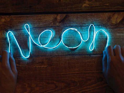 cuisine amenage diy neon sign enseigne au néon diy