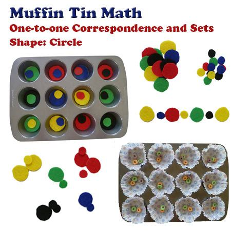 muffin tin math one to one correspondence and sets kidssoup 261 | muffintin KS
