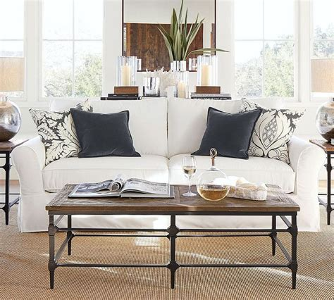 pottery barn loveseat slipcovers best 25 pottery barn sofa ideas on pottery