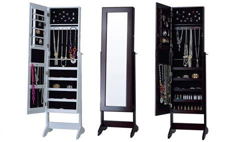 white mirrored jewelry cabinet armoire canada white mirror jewelry armoire canada reversadermcream