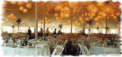 Catering Ceiling Paper Lanterns Event Reception Party