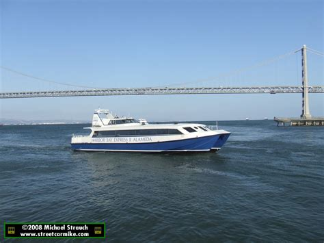 Ferry To Harbour Bay by Alameda Harbor Bay Ferry Streetcarmike