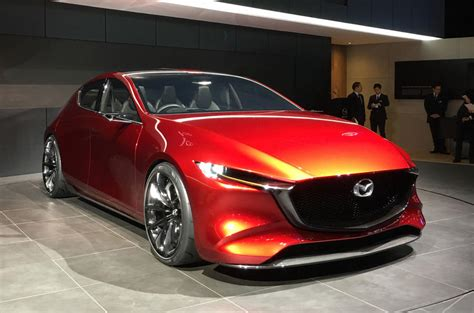 Mazda Kai Concept, The Mazda3 Successor Appears At Tokyo