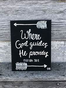 Where God guide... Bible Verses