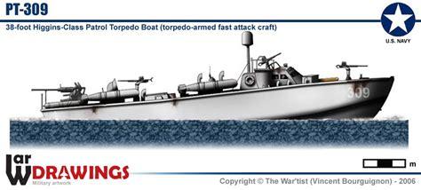Higgins Pt Boat Specifications by Pt Boat Pt 309