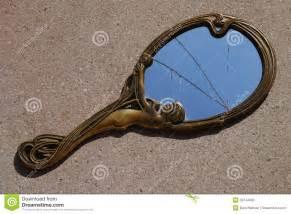 Mosaic Mirrors by Broken Mirror Stock Photo Image 39744985