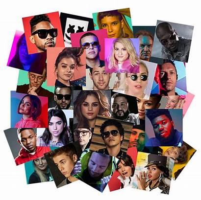 Artists Stars Collage Pop Choice Mood Musicchoice