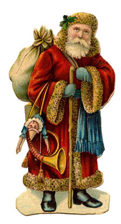 victorian christmas clip art  world santa
