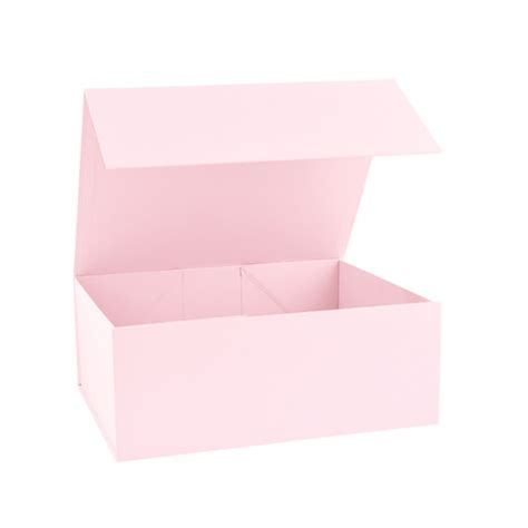 baby pink magnetic gift boxes from stock at midpac in the small 160mm size rigid gift boxes