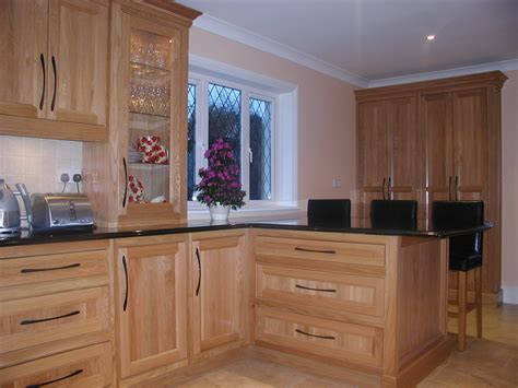 white oak kitchen cabinets thought forms ireland 187 kitchens 1443