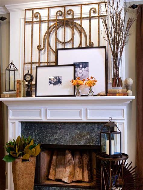 Decorating Ideas Bookshelves by 20 Mantel And Bookshelf Decorating Tips Hgtv