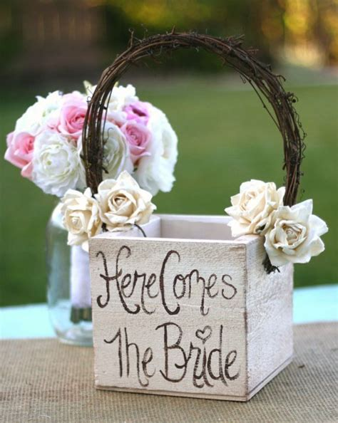 flower girl basket ideas basket wedding pinterest