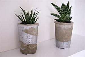Beton In Form : diy beton und tassen sukkulenten nina nachtigalnina nachtigal ~ Markanthonyermac.com Haus und Dekorationen