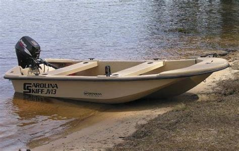 Carolina Skiff Guide Boat by Carolina Skiff Jv13 Boats For Sale